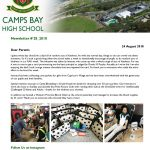 CBHS Newsletter 28 of 24 August '18