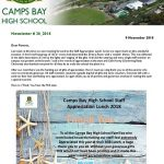 CBHS Newsletter 38 of 9 Nov'18