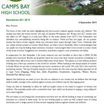 CBHS Newsletter 31 of 6 Sept '19