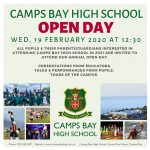 CBHS Open Day 19 Feb '20