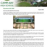 CBHS Newsletter 22 of 12 June '20