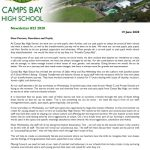 CBHS Newsletter 23 of 19 June '20