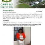 CBHS Newsletter 29 of 31 July '20
