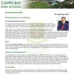 CBHS Newsletter 37 of 25 Sept '20