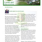 CBHS Newsletter 38 of 2 Oct '20