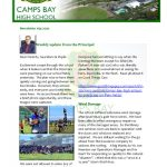 CBHS Newsletter 39 of 9 Oct '20