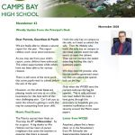 CBHS Newsletter 42 of 6 Dec '20