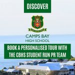 BOOK A PERSONALISED TOUR WITH THE CAMPS BAY HIGH SCHOOL STUDENT RUN PR TEAM