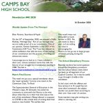 CBHS Newsletter 40 of 16 Oct '20